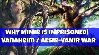 God of war THEORY- Why MIMIR is imprisoned! Vanaheim, Asier-Vanier WAR