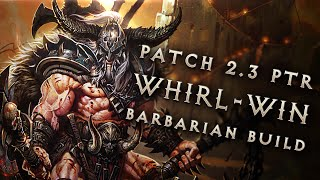 "2.3 Barbarian ""Whirl-Win"" Build - Diablo 3 Reaper of Souls PTR"