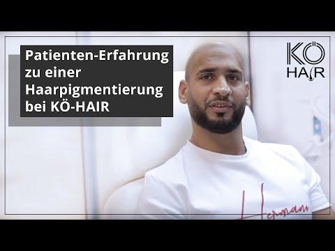 Patienten-Erfahrung zu einer Haarpigmentierung bei KÖ-HAIR