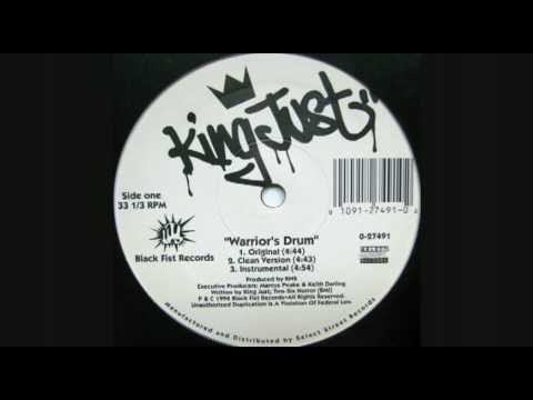 Клип King Just - Warrior's Drum