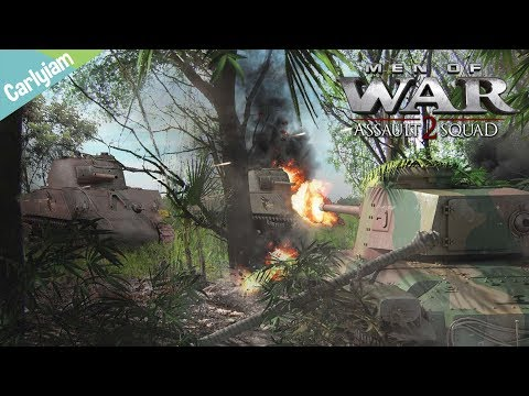 American Counter Attack on Japanese Airfield - Robz & Pacific Island Mod - MOW: AS2