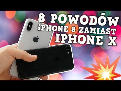 iPhone 8 zamiast iPhone X - 8 POWODÓW 💥   AppleNaYouTube