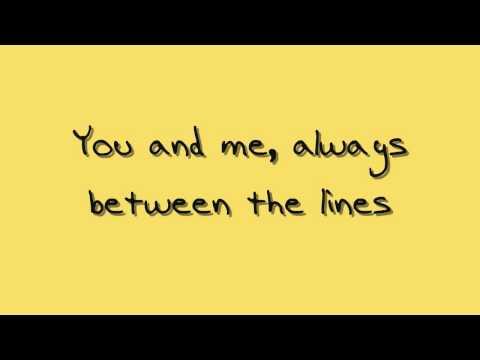 """""""Between the Lines"""" - Sara Bareilles (lyrics)"""
