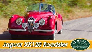 """Jaguar XK120 OTS: """"Open Top Symphony"""""""