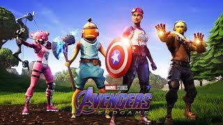 "*NEW* AVENGERS! ""EndGame"" Mode! - (ft. IronMan, Captain America, Thor & Hawkeye) Fortnite Malaysia"