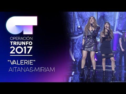 VALERIE - Miriam y Aitana | OT 2017 | Gala 12