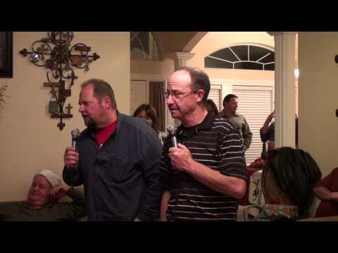 Karaoke Perfection singing Chicken Fried!