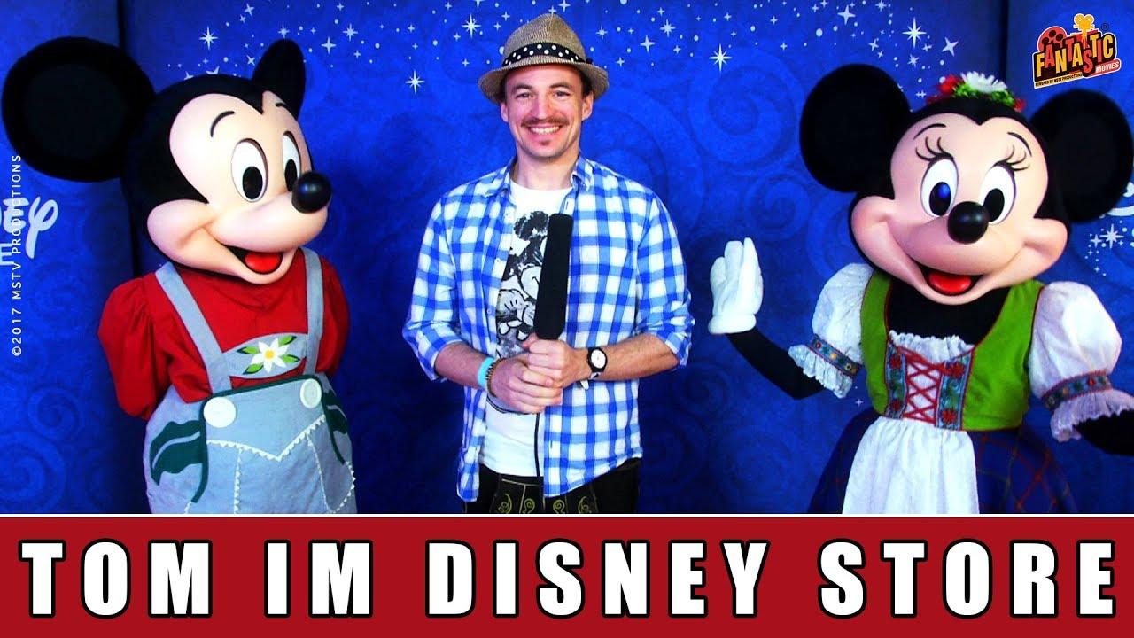 Disney Store München - Eröffnung | Tom von der Isar