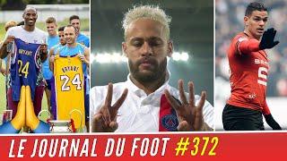 VIDEO: NEYMAR et le monde du foot rendent hommage à Kobe BRYANT, BEN ARFA aurait trouvé un club !