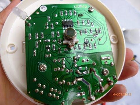 Conectar sensor cableado alarm 99 100 doovi - Sensores de movimiento con alarma ...