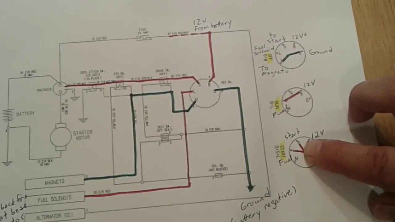 on ignition wiring diagram snapper re 130