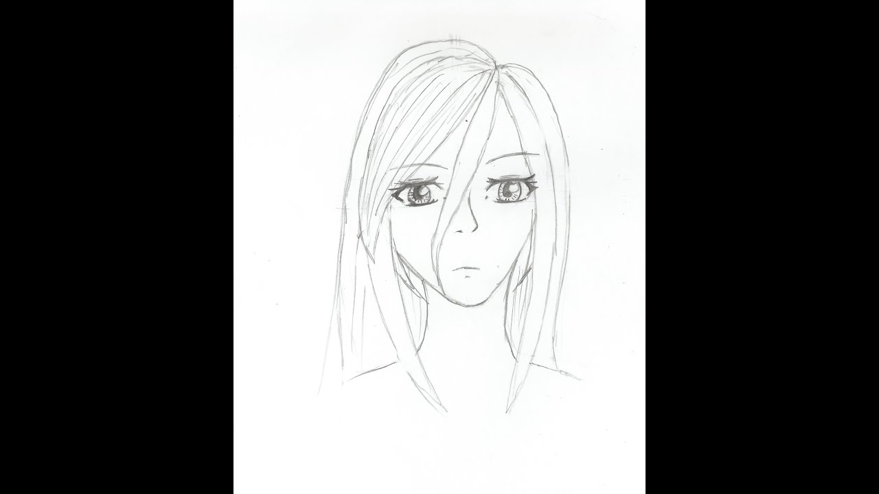 Dessiner un portrait simple facile youtube - Dessiner un manga facilement ...