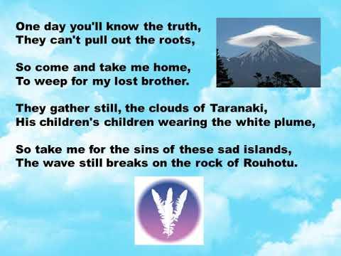Parihaka with Lyrics (Tim Finn and Herbs)