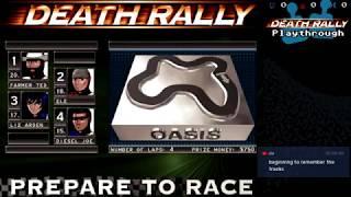Скачать Death Rally Playthrough 1996 DOS Part 2
