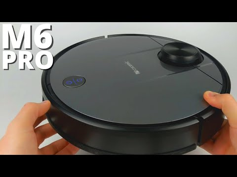 Proscenic M6 Pro Review - Wi Fi Connected Robot Vacuum Cleaner and Mop