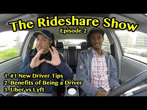The Rideshare Show Episode 2: #1 Tip for New Drivers, Driver Benefits, Uber vs Lyft