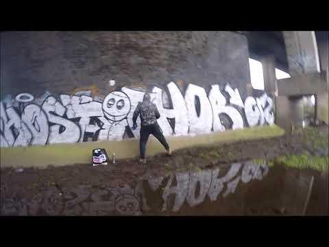 Graffiti - Ghost EA & Chor CRZ - Chrome Killers Trackside