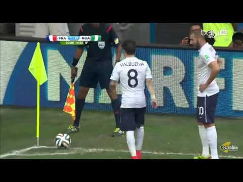 France vs Nigeria 2-0 Full Match ~ LIVE Fifa World Cup 2014 [REVIEW]