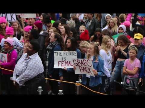 Women's March Ann Arbor - Peaceful Protest at the University of Michigan
