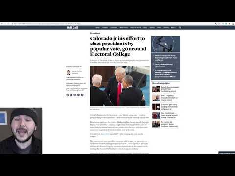 Democrats Call To ABOLISH The Electoral College, Complete Ignorance