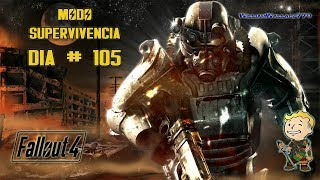 ♠ Fallout 4   Misión Principal   Mar Resplandeciente   En Español    Día 105
