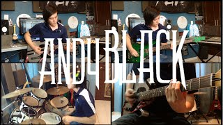 We Don't Have To Dance - Andy Black (Instrumental Cover) (Guitar Cover) (Bass Cover) (Drum Cover)