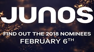 2018 Juno Nominations Announcement