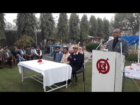 Republic Day Celebration & Speech of MD  Ravi Toshiwal(Banswara Syntex Ltd.) by Sham Sajal
