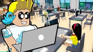 Roblox / Robloxia University School / Playing Games in Computer Class / Gamer Chad Plays
