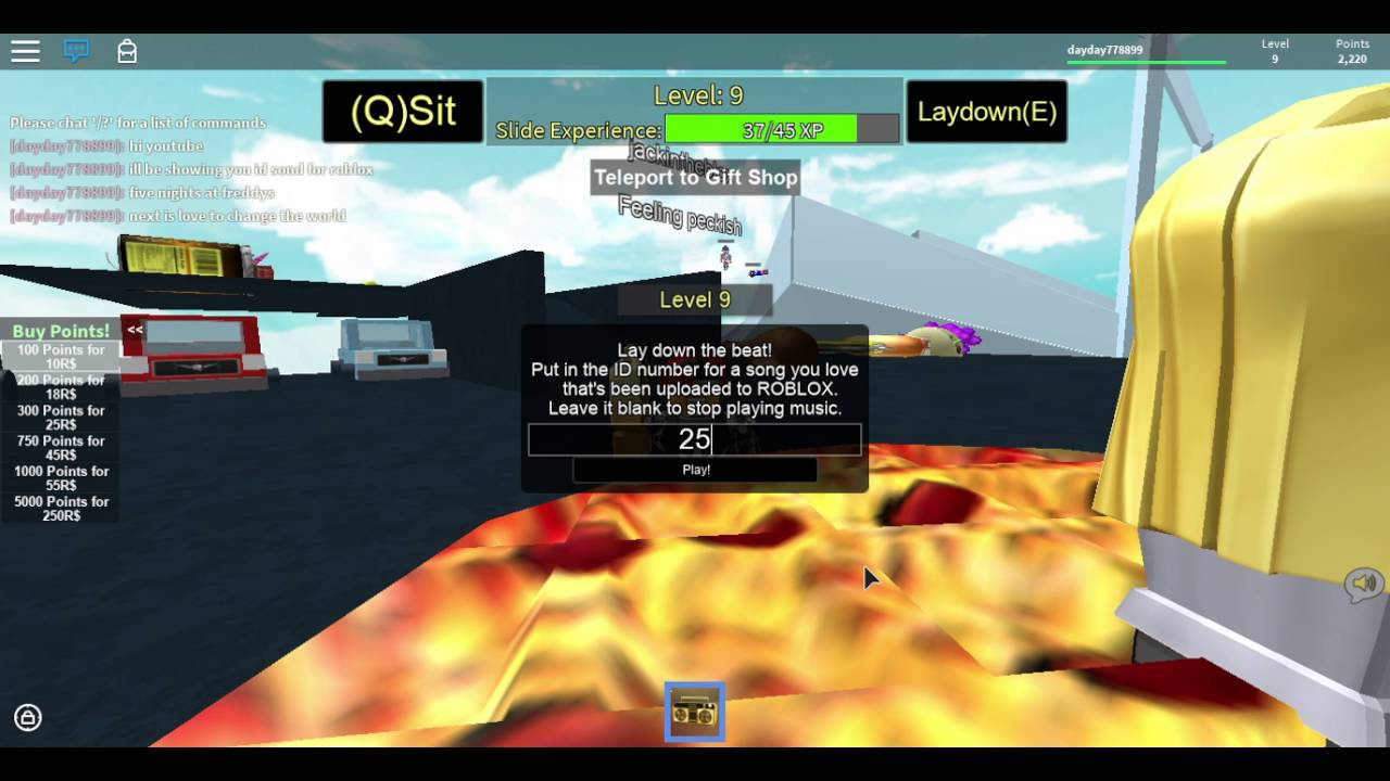 Roblox Id Songs Five Nights At Freddys And Love To Change The