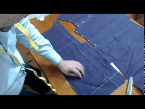 пошив пиджака видео