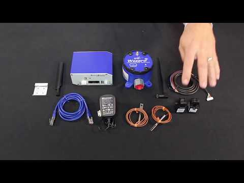 How To Install The Wzzard HVAC Monitoring Starter Kit, Advantech (EN)