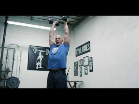 Dumbbell Front Squat Push Press - How To