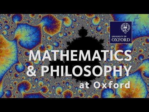 Mathematics and Philosophy at Oxford University