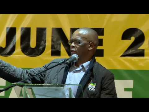 Ace Magashule addresses ANC FS Provincial General Council