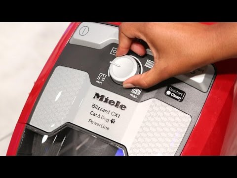 Miele takes a leap with its Blizzard bagless vacuum