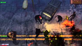 Burning Flesh Hound Killing Compilation - Dead Frontier 3D