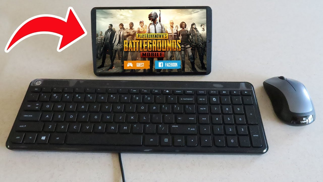 PUBG MOBILE on PC with WORKING Mouse and Keyboard! (PUBG Mobile)