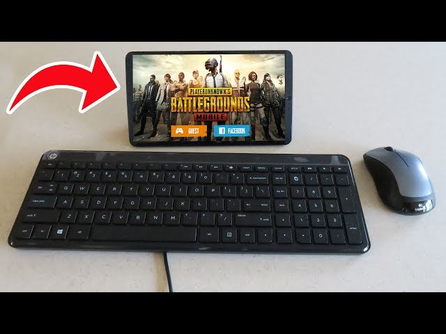 how to play pubg mobile with keyboard and mouse