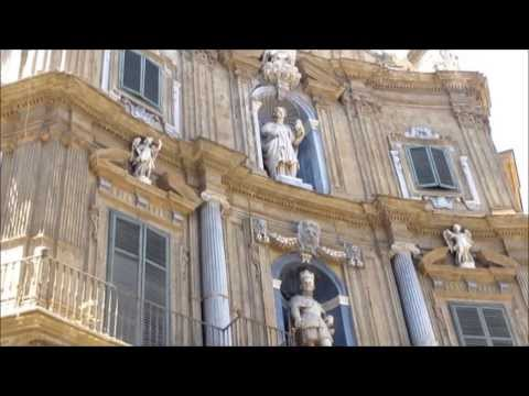 Palermo:  A walk on  Corso Vittorio Emanuele from Cathedral to Via Roma.