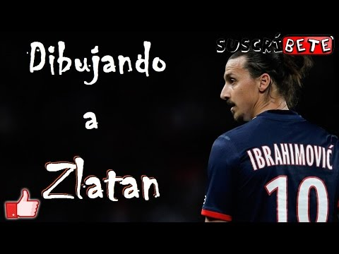 "Dibujando a Zlatan Ibrahimovic ""Speed Drawing"" 2017"