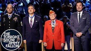 Jimmy Salutes Three Heroic Medal of Honor Recipients for Veterans Day
