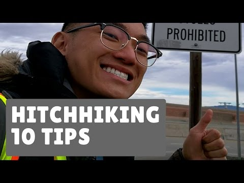 HOW TO TRAVEL FOR FREE BY HITCHHIKING: 10 TIPS