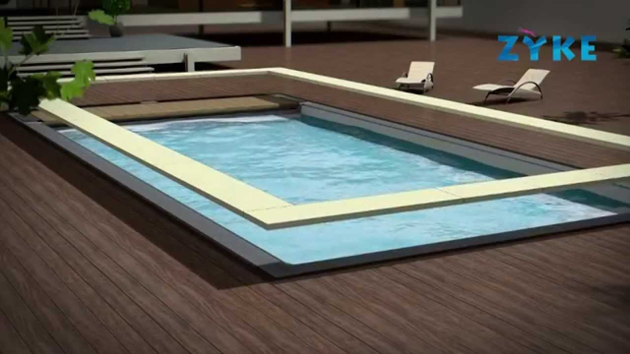 Piscine bloc polystyrene easybloc zyke youtube for Construction piscine desjoyaux youtube