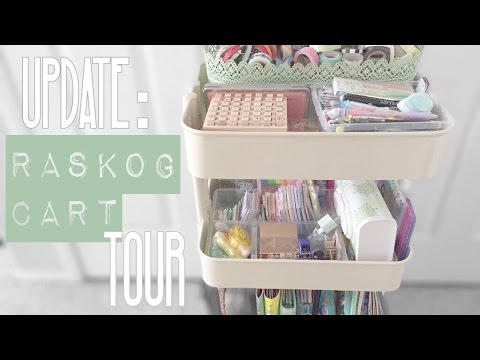 Update: Raskog Cart Tour/Organization (Planner Supplies)