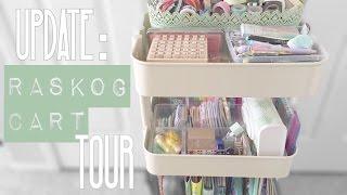 Update: Raskog Cart Tour/Organization (Planner Supplies)