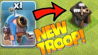 "NEW ROBOT TROOP!?! ""Clash Of Clans"" BUIL"