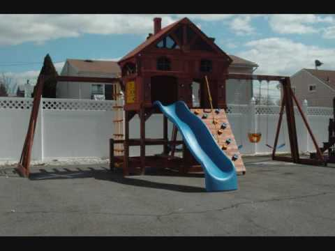 2008 Costco Sunray Premium Playground Assembly By Dan Youtube