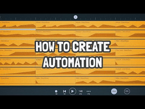 Tutorial #2 : How To Create AUTOMATION In FL STUDIO MOBILE