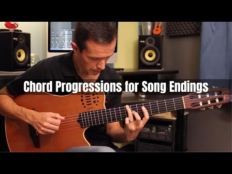 Chord Progressions for Song Endings (see description)